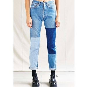 BDG Patch Jeans